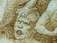 BRUEGEL Pieter I (Attribué) - Damnés tourmentés par des Diables et des Animaux Fantastiques (drawing, dessin, disegno-Louvre INV19185) - Detail 53 (L'art au présent) Tags: art painter peintre details détail détails detalles drawing drawings dessin dessins dessins16e 16thcenturydrawings dessinhollandais dutchdrawings peintreshollandais dutchpainters louvre paris france peterbrueghell'ancien peter brueghel l'ancien man men femme woman women kids kid children child jeunegarcon youngboy jeune young garçon devil diable hell enfer jugementdernier lastjudgement monstres monster monsters fabulousanimal fabulousanimals fantastique fabulous nakedwoman nakedwomen femmenue nufeminin nudefemale nue bare naked nakedman nakedmen hommenu numasculin nudemale nu chauvesouris bat bats dragon dragons halloween