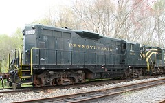 PRR 7000 GP9 (kitmasterbloke) Tags: tuckahoe nj usa jersey railroad tourist iutdoor transport diesel locomotive train
