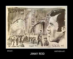 JIMMY REID by broady 2017. (Broady - Salford art and photography) Tags: he legendary broady broadhurst art politics union clyde ships unions labour communist jimmyreid scottish salford manchester docks dockers