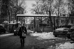 0A77m2_DSC5321 (dmitry_ryzhkov) Tags: pretty prettywoman gate winter snow motion movement walk walker walkers pedestrian pedestrians sidewalk sony alpha one black blackandwhite bw monochrome white bnw blacknwhite bnwstreet woman women ladyart city europe russia moscow documentary journalism street streets urban candid life streetlife citylife outdoor outdoors streetscene close scene streetshot image streetphotography candidphotography streetphoto candidphotos streetphotos moment light shadow people citizen resident inhabitant person portrait streetportrait candidportrait unposed public face faces eyes look looks