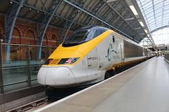 3214 (matty10120) Tags: class 373 eurostar old railway rail train transport e300 tmrs london st pancras international unrefurbished unrefurb