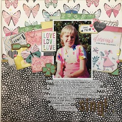 LOAD4 Sing! (girl231t) Tags: 2017 load517 paper load4 scrapbook load layout 12x12layout