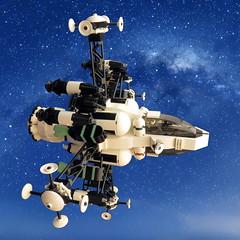 Orion Mk I Interceptor (Kingdomviewbricks) Tags: lego legospace starfighter