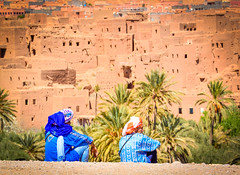 Men in the High Altas Mountains (ronniegoyette) Tags: atlasmountains march2017 moroccovacation berbers