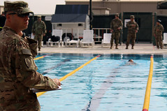 German Armed Forces Proficiency Badge Test at Camp Arifjan (29thInfantryDivision) Tags: germanarmedforcesproficiencybadge gafpb camparifjan campbeuhring kuwait 29thinfantrydivision 29id swimming competition endurance