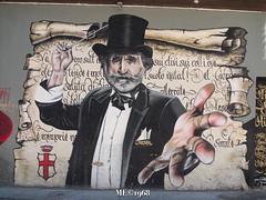 W Verdi (iw2ijz) Tags: milano milan italia italy lombardia murales verdi giuseppe compositore streetphotography streetart