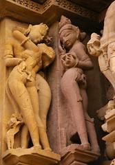 Khajaraho temple carving 37 (Debbie Sabadash) Tags: khajuraho madhya pradesh india