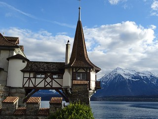 Switzerland - Oberhofen castle