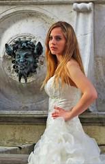 The beauty and ... the Beast :-) - Fontana del Calamo by Gianni Del Bufalo CC BY-NC-SA (bygdb - Gianni Del Bufalo (CC BY-NC-SA)) Tags: beauty best bella labestia fontanadelcalamoancona satiro satire sposa bride allfreepicturesjuly2017challenge portrait