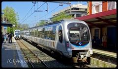 Irun Colón (04/2017) (aarongilp) Tags: agp aarongilp tren train trein treno zug comboio euskotren trena caf 900 irun colon hendaya topo donostia lasarte oria
