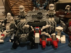 LEGO Star Wars Ships (splinky9000) Tags: kingston ontario star wars may the 4th be with you fourth force toys collectibles lego vehicles minifigures imperial hovertank pilots xwing fighter bespin cloud car tie interceptor hoth turret cannon