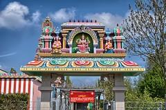 Hindu Tempel Hamm Untrop HDR (1ffischer) Tags: hindu tempel kamakshi göttin germany deutschland nrw nordrheinwestfalen 2017 hdr