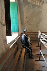 Mariachis Oaxaca Mexico (Ilhuicamina) Tags: oaxacan mexico mariachis musicians iglesia church music teotitlandelvalle