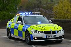 LF17 UDG (S11 AUN) Tags: west yorks yorkshire wyp police bmw 330d 3series anpr roads policing rpu traffic car 999 emergency vehicle demonstrator demo bmwcarsuk lf17udg