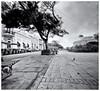 Plaza Colón (Samy Collazo) Tags: pinhole214x214 pinhole3mm aristaedu400 lightroom3 niksilverefexpro2 sanjuan oldsanjuan viejosanjuan estenopeica estenopo