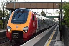 221106 @ Marston Green (ianjpoole) Tags: virgin trains 221106 willem barents 221102 john cabot woring 9j38 london euston shrewsbury birmingham new street