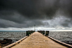 Light Upon (Tim Pohlhaus) Tags: chesapeake bay water landscape north point state park baltimore county maryland pier