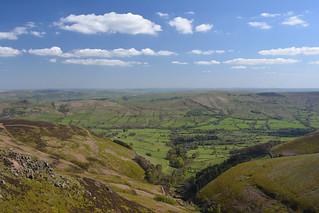 The Vale of Edale, Peak District National Park, Derbyshire, England.