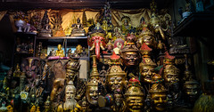 Siarn Ruesi (Nick-L) Tags: thailand bangkok mask hermit sakyant buddah