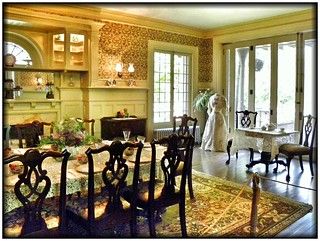 Sonnenberg Gardens & Mansion ~ Historic Park ~ Canandaigua NY ~ Dining Room