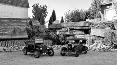 1925 Ford Model T Touring & 1931 Ford Model A Phaeton (JCarnutz) Tags: 124scale diecast sunstar danburymint 1925 ford modelt modela 1931