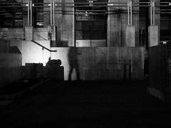 shadows on the wall (John Drossos) Tags: streetphotography street shadows contrast night nightshot nightphotography bynight walkingbynight monochrome blackwhite blackandwhite