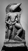 Vishnu as the Boar Avatar (Thad Zajdowicz) Tags: stone sculpture vishnu ancient boar avatar art blackandwhite bw black white monochrome zajdowicz pasadena california light dark leica lightroom indoor inside availablelight sandstone statue