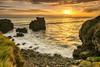 Gold (Migueliglesias76) Tags: asturias nikon nature rock photography playa paisaje paradise longexposure cantabrico colunga seascape sky