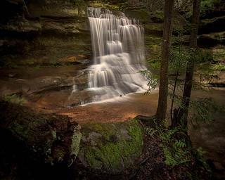Old Man's Cave Trail, Hocking Hills, Ohio, USA