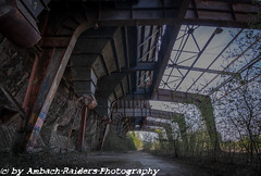 Spiderlegs (Ambach Raiders Photography) Tags: urbanexploration urbex lostplace rottenplaces forgotten abandoned decay verlassen vergessen verfall verloren verottet terre rouge erz