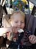 Pleased with ice cream (quinn.anya) Tags: paul toddler icecream stroller pleased
