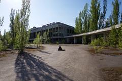 Part of the Central Square of the abandoned City of Pripyat (jussitoivanen) Tags: urban urbanphotography urbanphoto urbanism urbannature urbanexplorer decay streetview streetphoto urbex urbanex pripjat pripyat chornobyl chernobyl urbanlandscape city cityscape