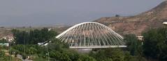 Puente de Práxedes Mateo Sagasta (Logroño, La Rioja, España, 14-5-2006) (Juanje Orío) Tags: paisaje larioja logroño provinciadelarioja españa spain puente bridge río ebro river 2006