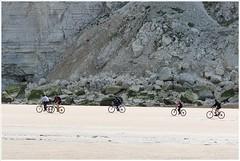 fietsen op het strand (HP025733)