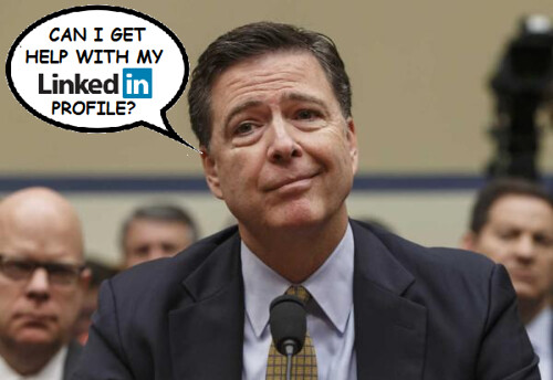 FBI Director James Comey Seeks New Opportunities (although what is happening with his book assures him