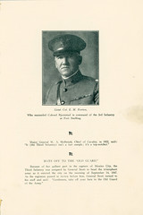 1923-09-21-Organization Day program-05 (Old Guard History) Tags: 1923 3dusinfantryregimenttheoldguard fortsnelling minnesota organizationday