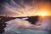 Niagara Falls Sunrise 4/24/2017 (mbstuart) Tags: red longexposure waterfall niagarafalls niagara sunrise landscape nature