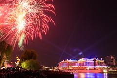 Feuerwerk beim Hafengeburtstag (die_Nicky79) Tags: hamburg feuerwerk schiffe nachtfotografie kreuzfahrtschiff aida aidaprima hafen hafengeburtstag canon