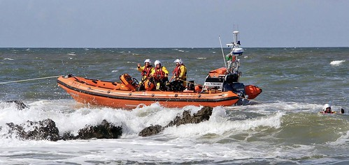 Atlantic 85 'Rose Of The Shires' on training exercise