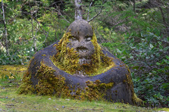 Stone Man (||HB) Tags: stone man vancouver island west coast art work carving concreate trails illusion interesting monster sasquatch forest wild woods wilderness escape exploring