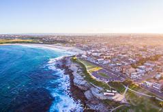 Sunset at Maroubra Beach (leonsidik.com) Tags: leon sidik drone sunset maroubra beach nsw newsouthwales sydney australia landscape 2017