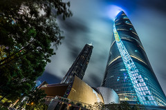 Shanghai Tower (alfonstr) Tags: shanghái shanghaishi china cn shanghai tower night skyline sky urban light longexposure color pudong architecture travel traveling clouds architecturelovers architecturephotography streetart twist twister citylife citylights shanghaitower