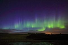 May 17 aurora HFF (John Andersen (JPAndersen images)) Tags: auroraborealis alberta jpandersenimagescalgary canon6d nightsky twistypond spring longexposure stars