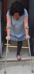 amp-1359 (vsmrn) Tags: amputee woman crutches onelegged