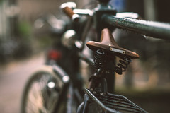 (angheloflores) Tags: amsterdam bike city street urban explore bokhe brooks colors netherlands