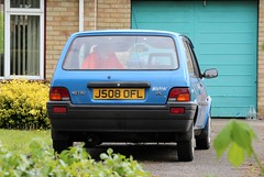 J508 OFL (Nivek.Old.Gold) Tags: 1991 rover metro 11c 3door marshall wisbech mistral