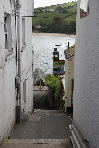 Salcombe - East Portlemouth ferry steps