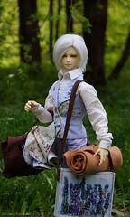 painter12 (Ermilena Puppeteer) Tags: leekeworldadolf leekeworld abjd bjd balljointeddoll infant