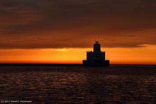 Break Wall Lighthouse, Milwaukee