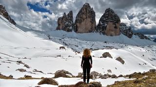 Selfie :-) - Tre Cime di Lavaredo / Drei Zinnen (2999m) - Trentino-Alto Adige / Veneto - Italia